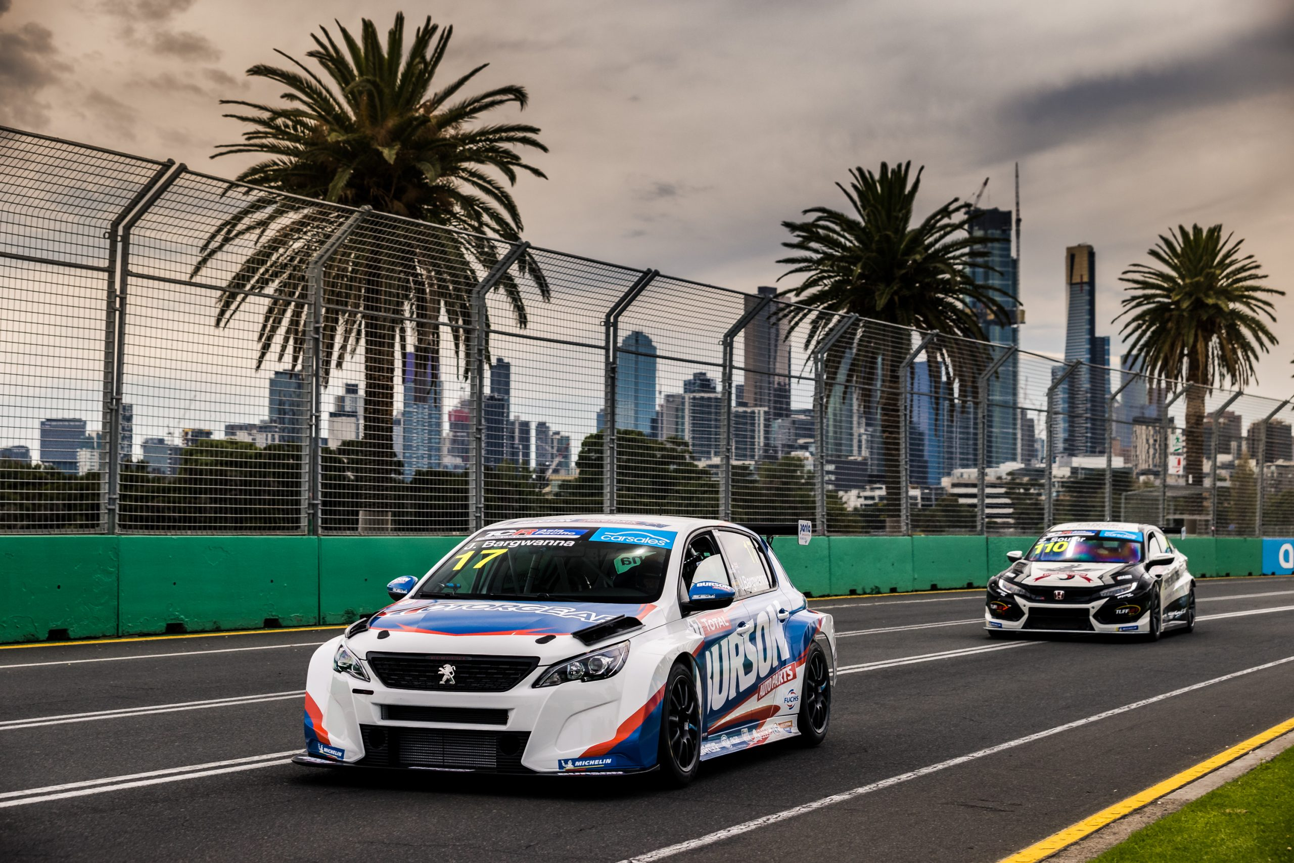 Grid set for opening round of carsales TCR Australia SimRacing Series at Albert Park