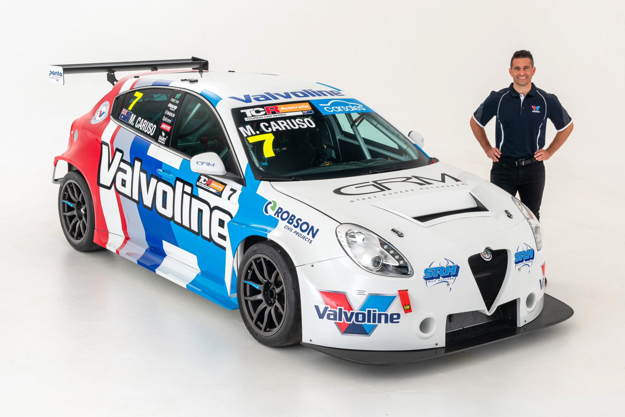 Caruso, Valvoline and GRM roll over two-year TCR Australia plan