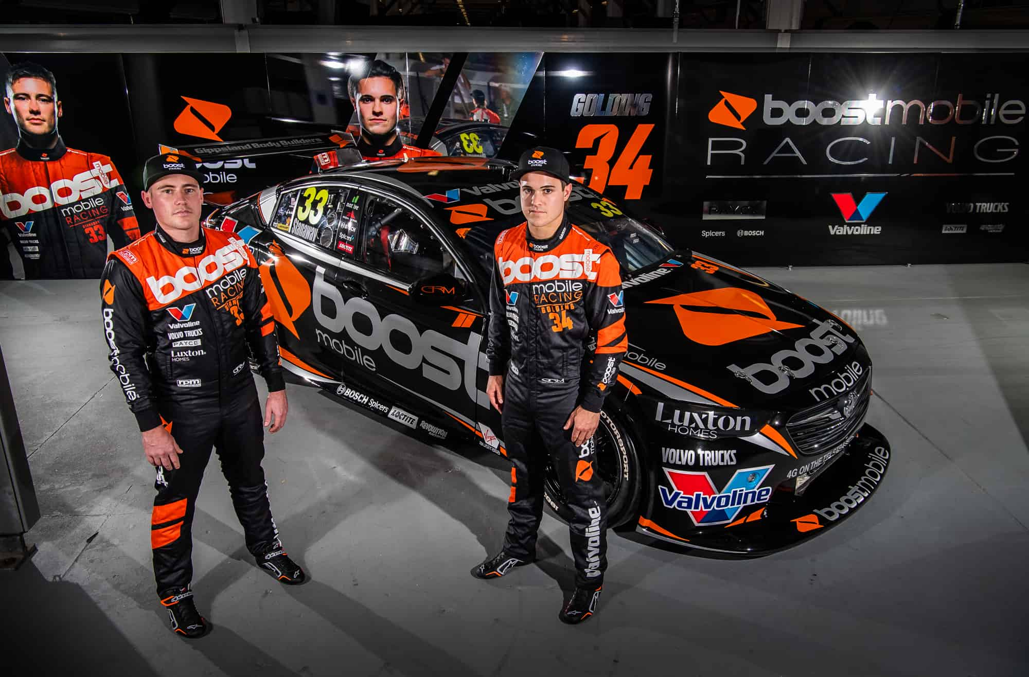 Boost Mobile Racing Supercars drivers set for first taste of S5000