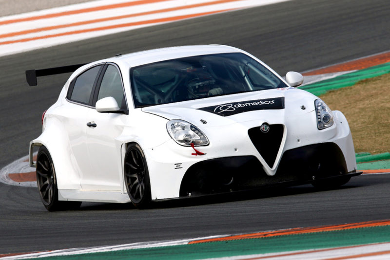 New Alfa Romeo TCR tested and bound for Australia