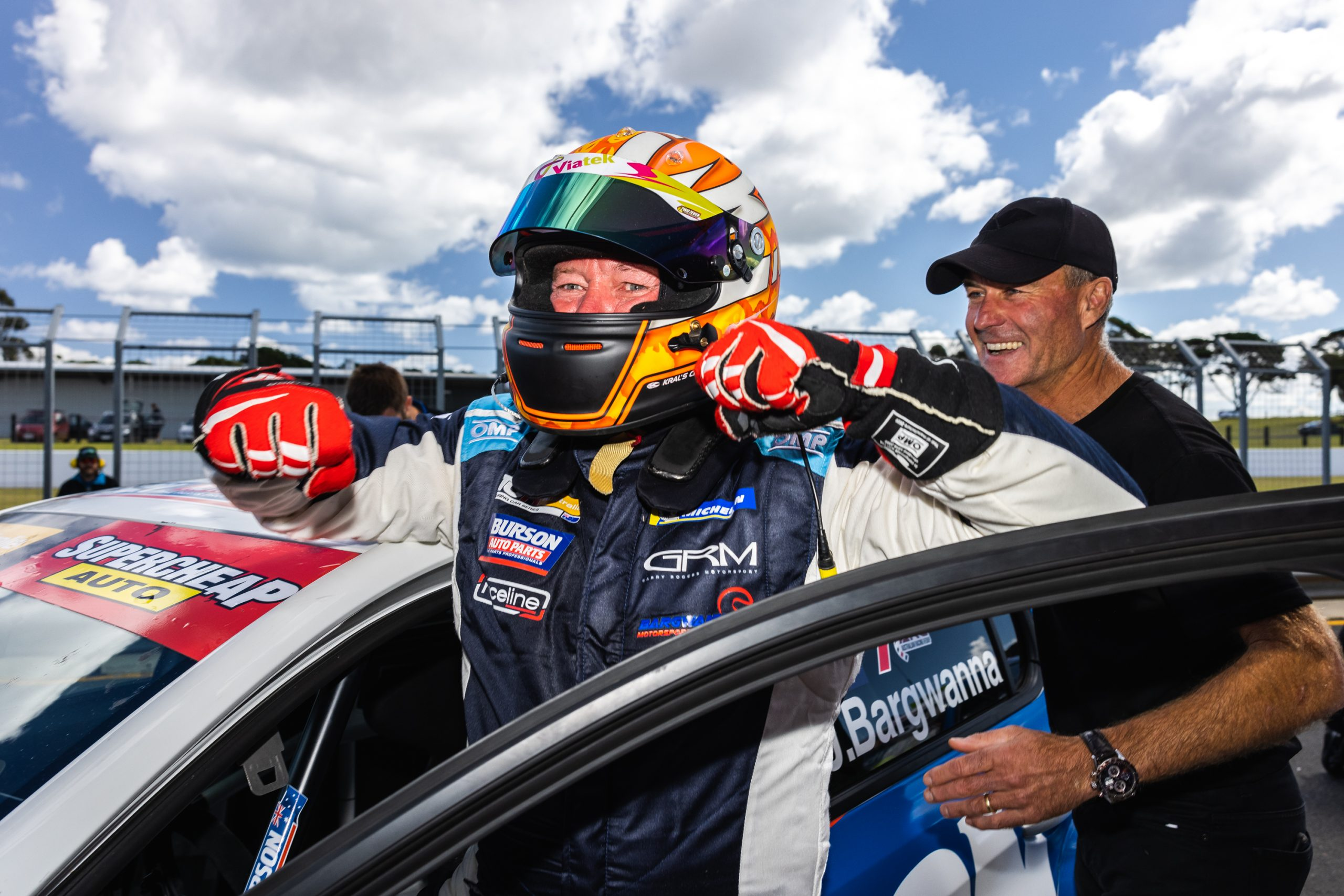 Jason Bargwanna claims Peugeot's first win at Phillip Island