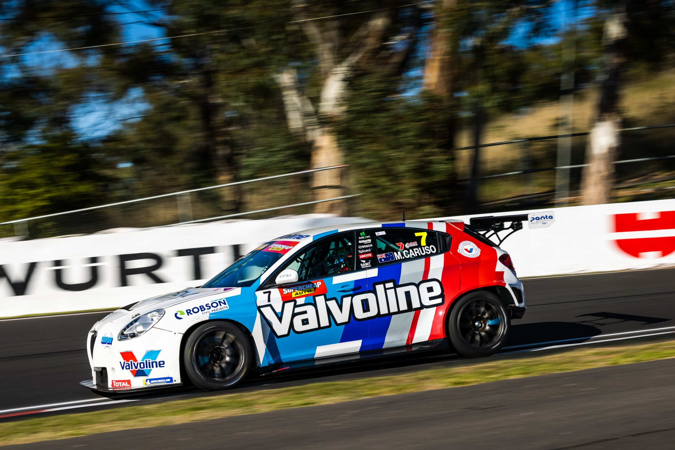 Michael Caruso excited for double Touring Car Bathurst duty