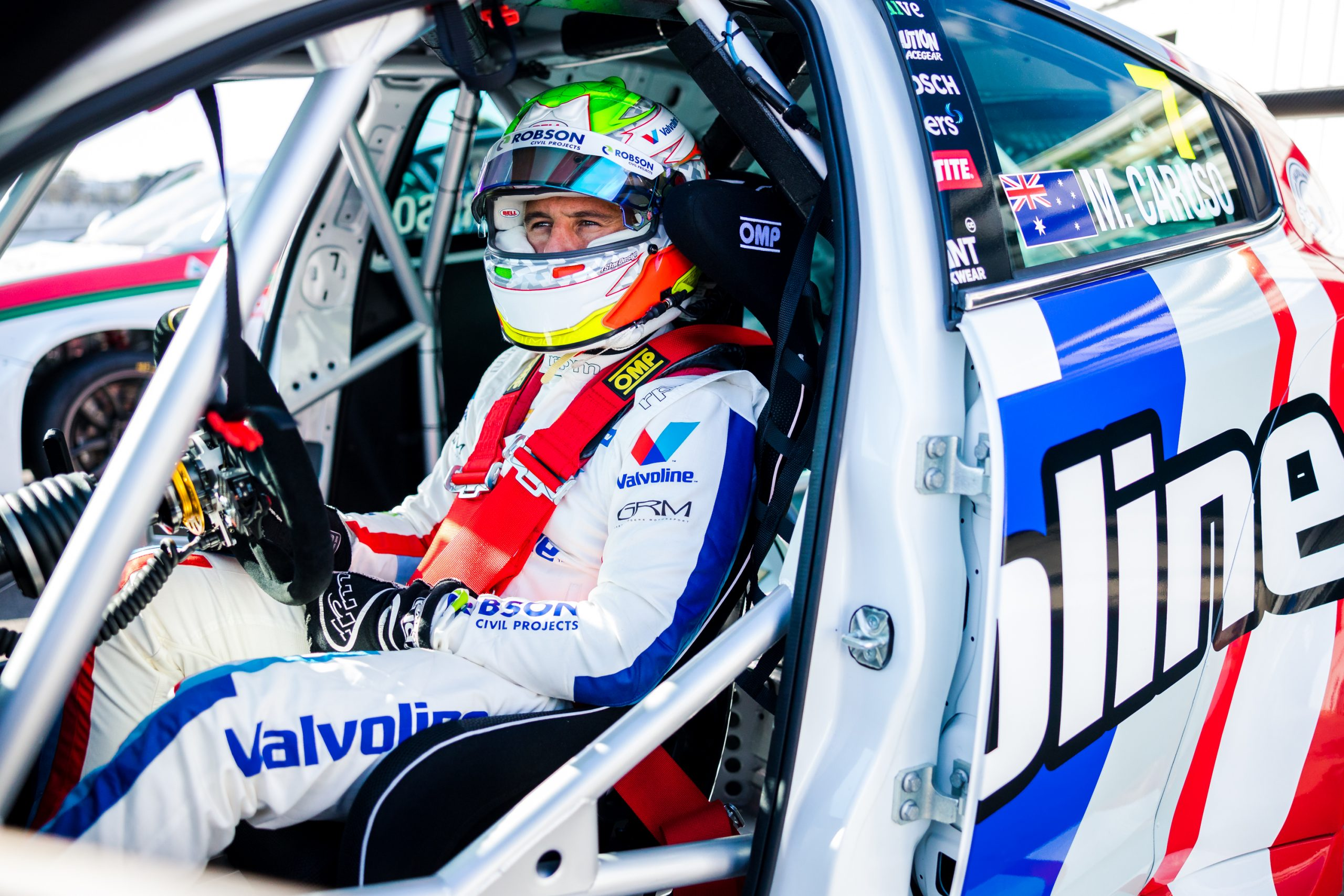 TCR debutant Michael Caruso to start opening race from front row