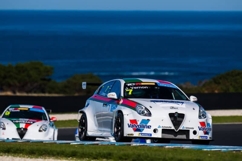 Jordan Cox recruited by GRM for Alfa Romeo drive