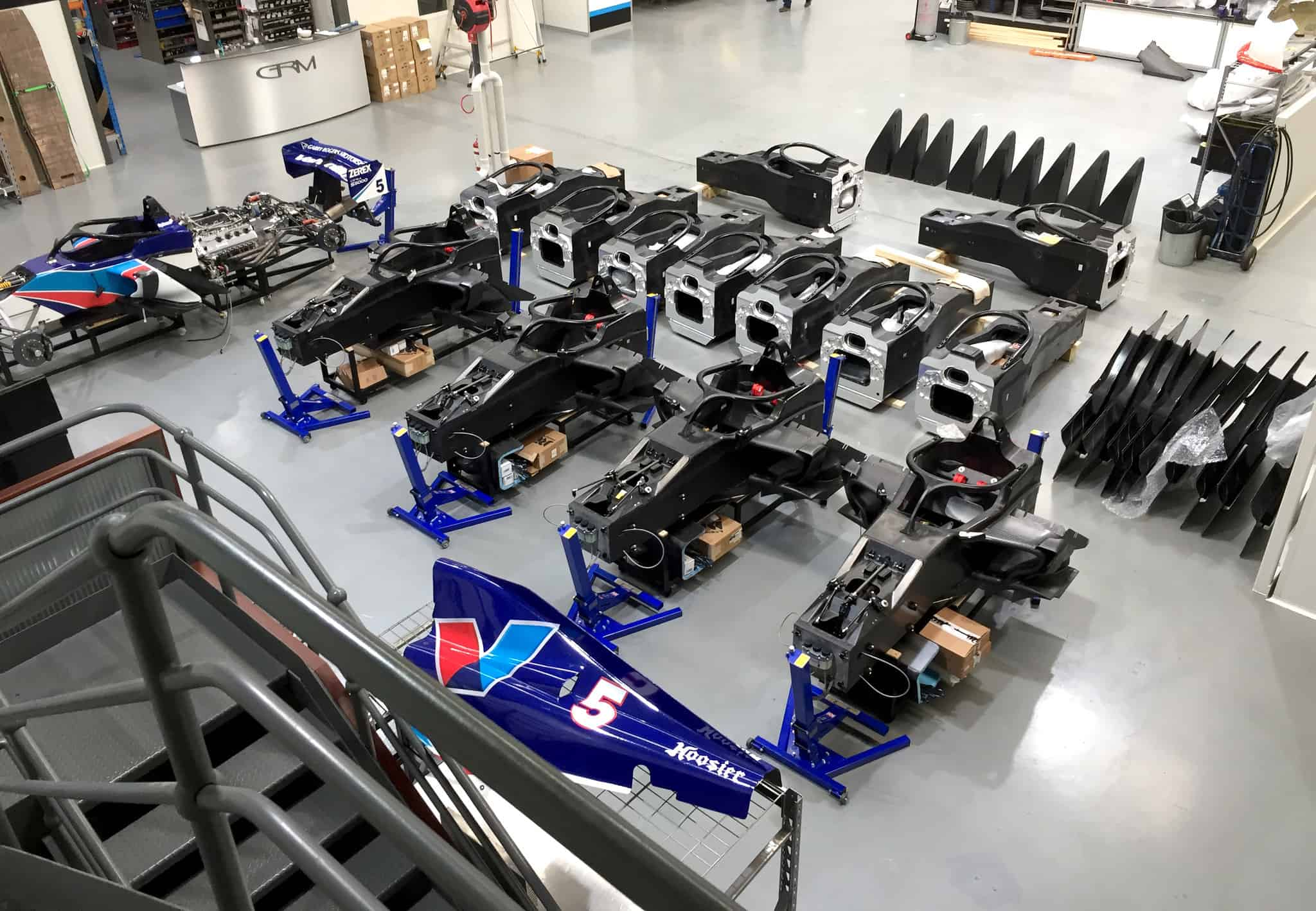 All 14 S5000 tubs now landed in Australia as excitement builds towards Sandown