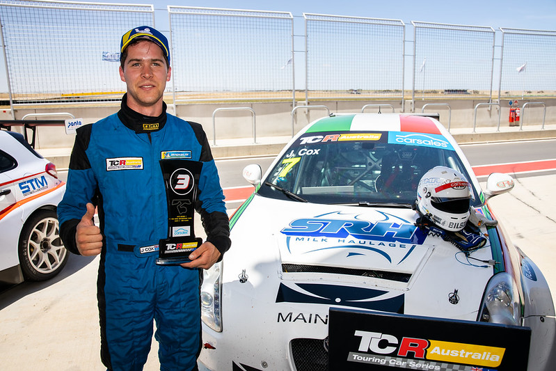 Jordan Cox locks in GRM TCR drive for 2020