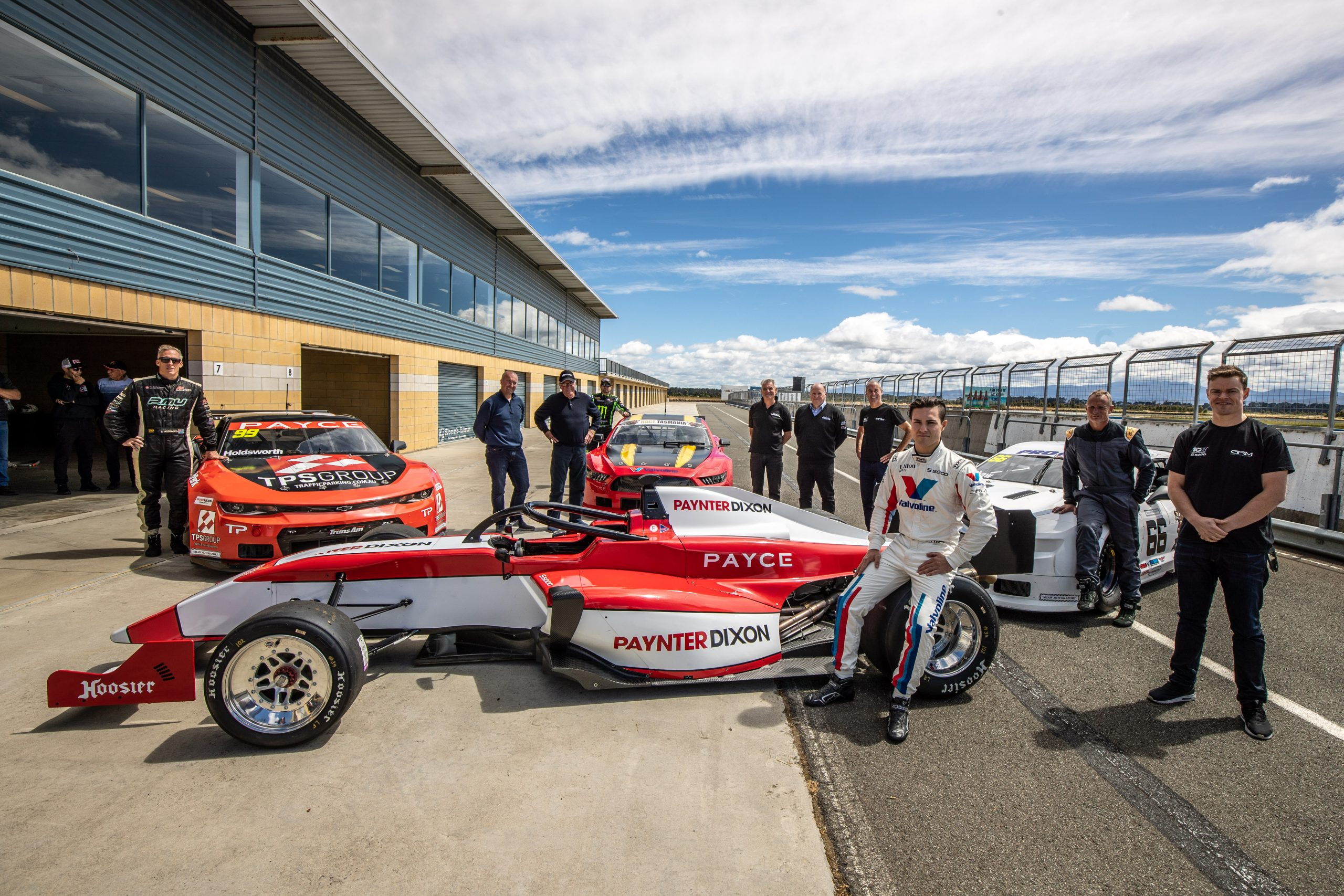 S5000 completes first laps of Symmons Plains Raceway