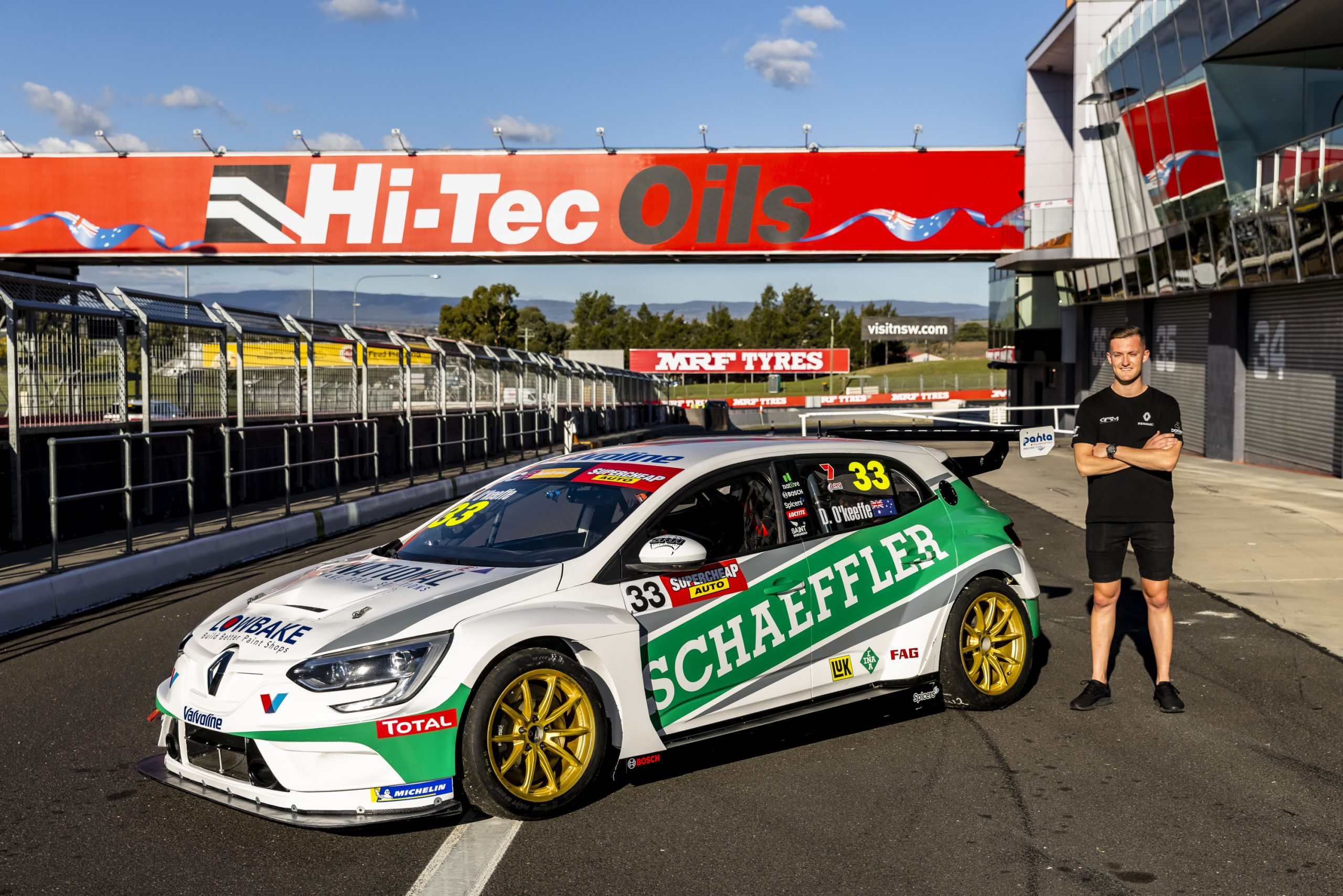 DOUBLE DUTY FOR DYLAN O'KEEFFE AT BATHURST