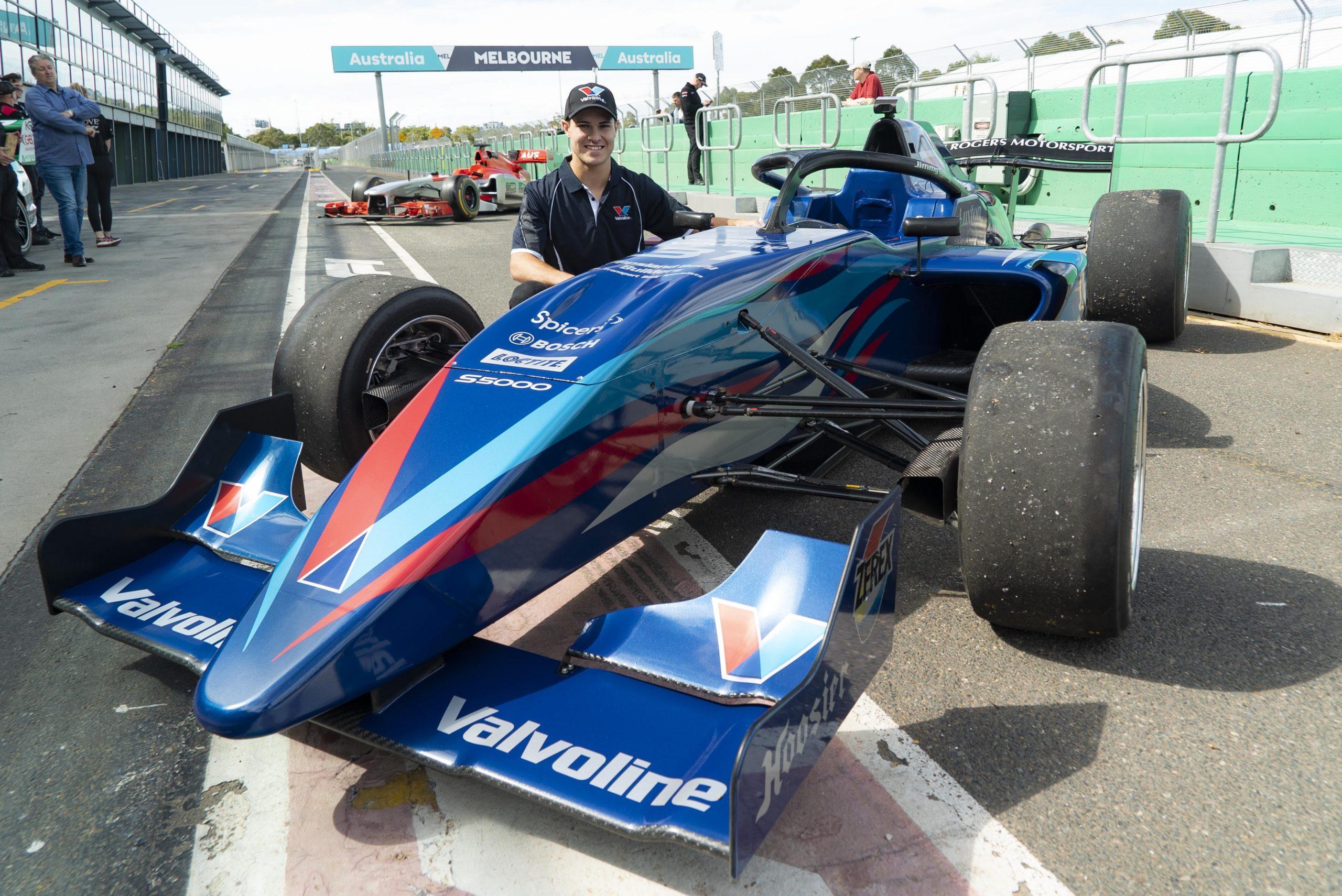 James Golding reveals striking Team Valvoline GRM S5000