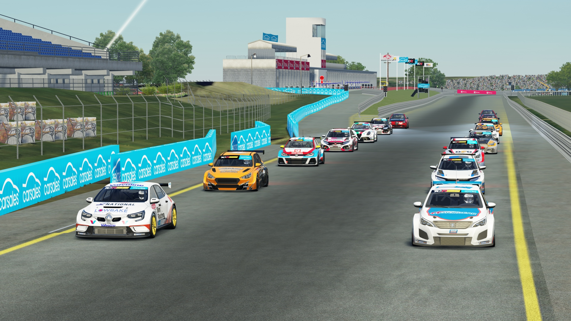 GRM YOUNG GUN CONTINUES STRONG FORM IN TCR AUSTRALIA SIMRACING SERIES