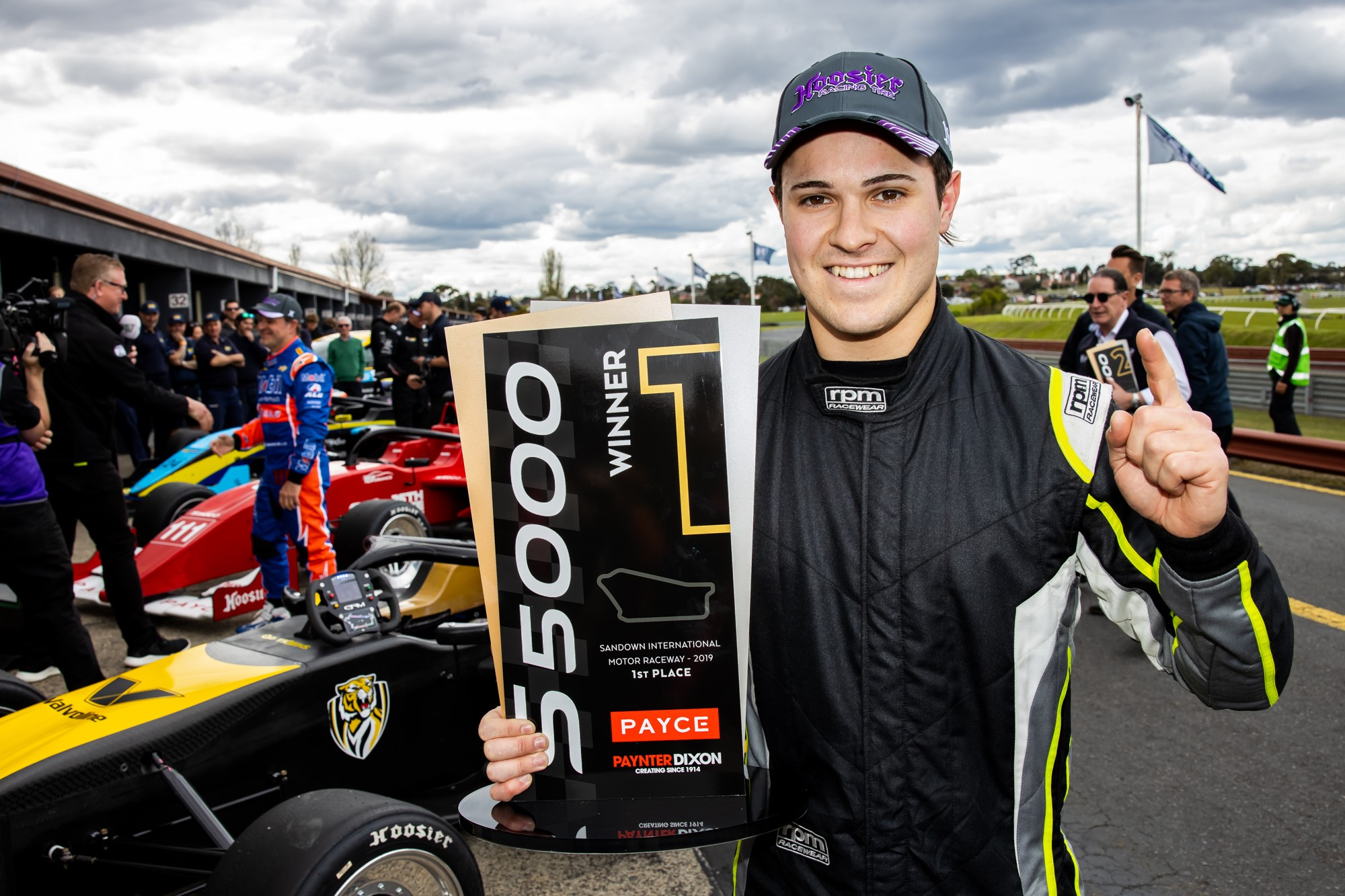 James Golding wins shortened S5000 race