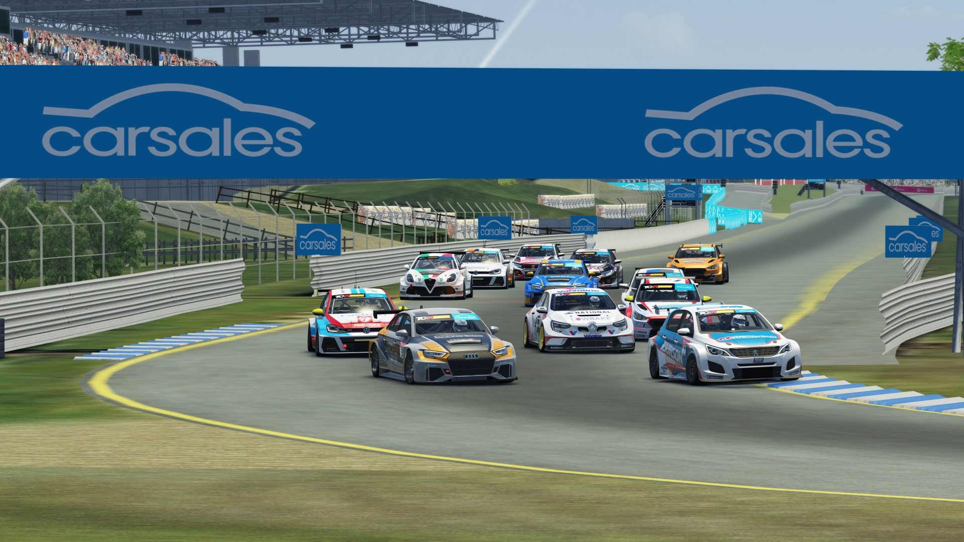 LIVESTREAM: TCR AUSTRALIA SIMRACING SERIES, SANDOWN