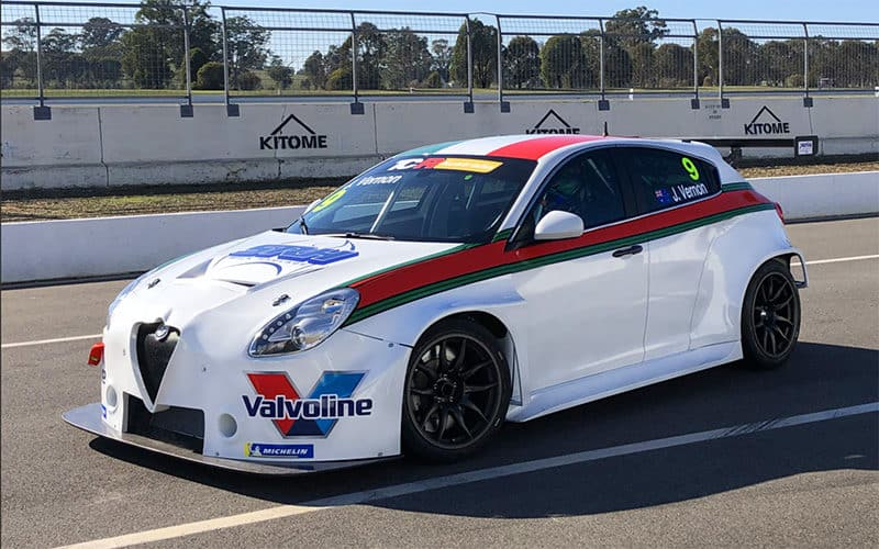Alfa gets colours as GRM tests at Winton