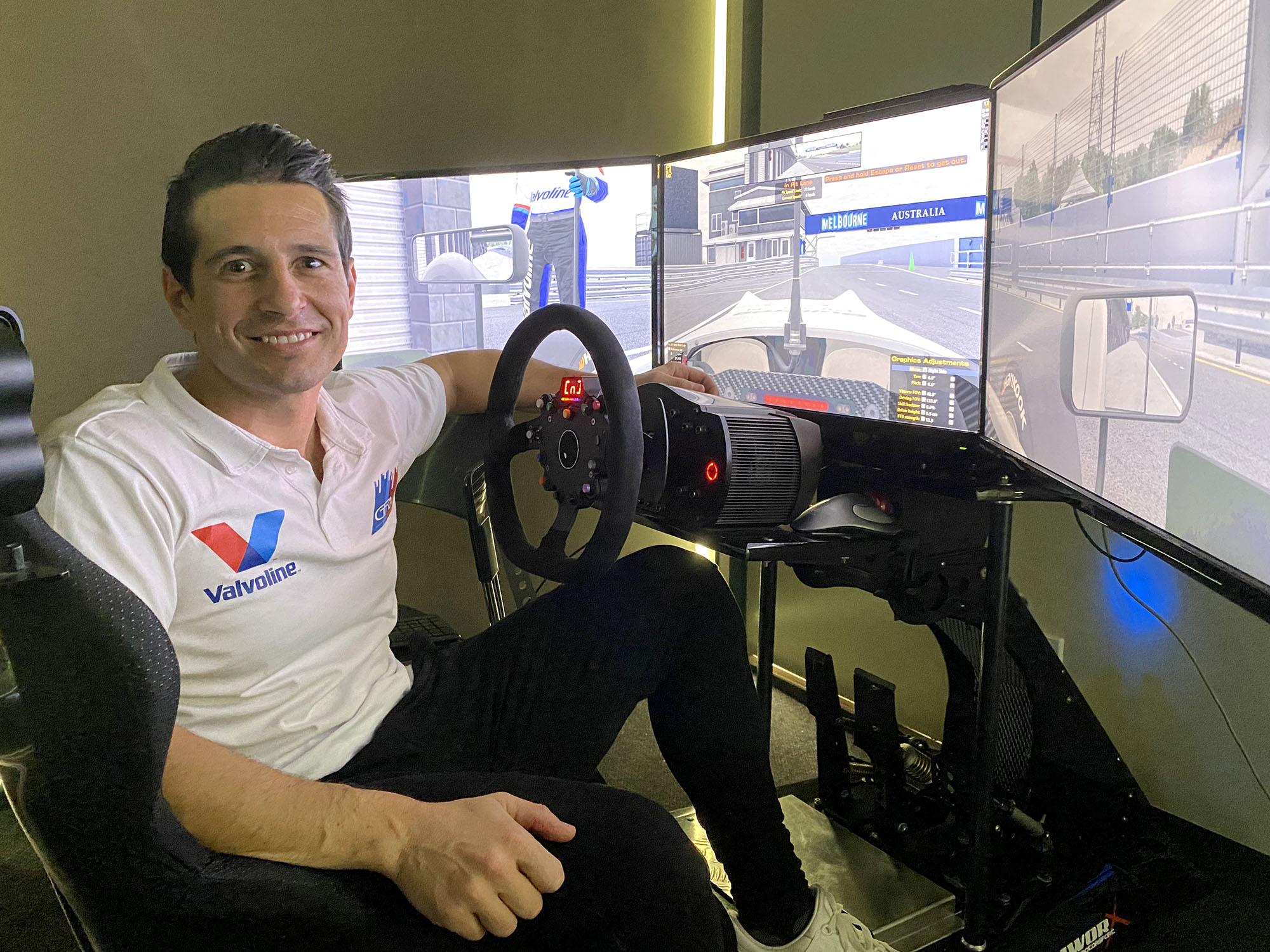 Michael Caruso set for online racing debut in carsales ARG eSport Cup