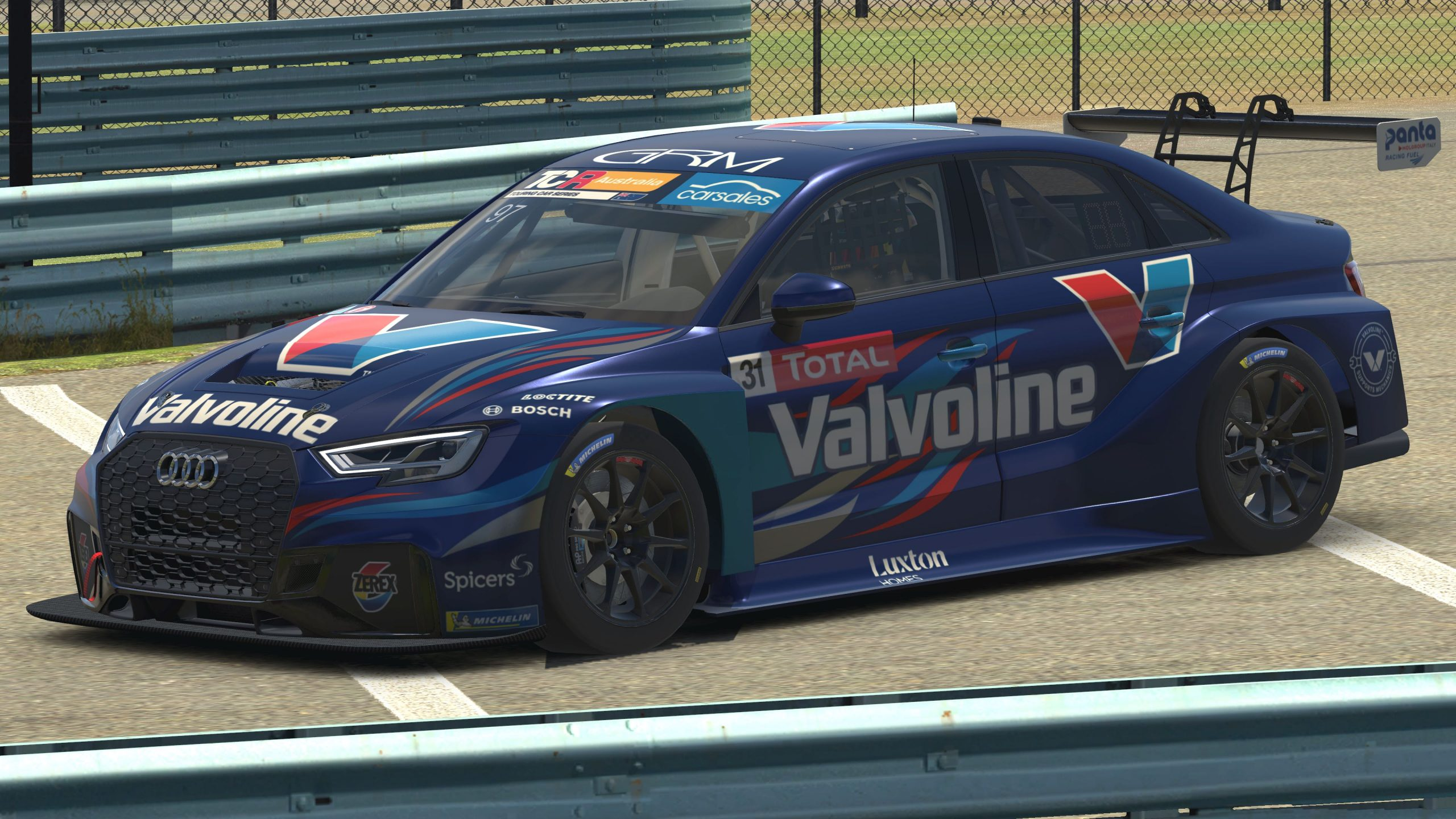 Stunning livery reveal for James Golding's ARG Cup entry