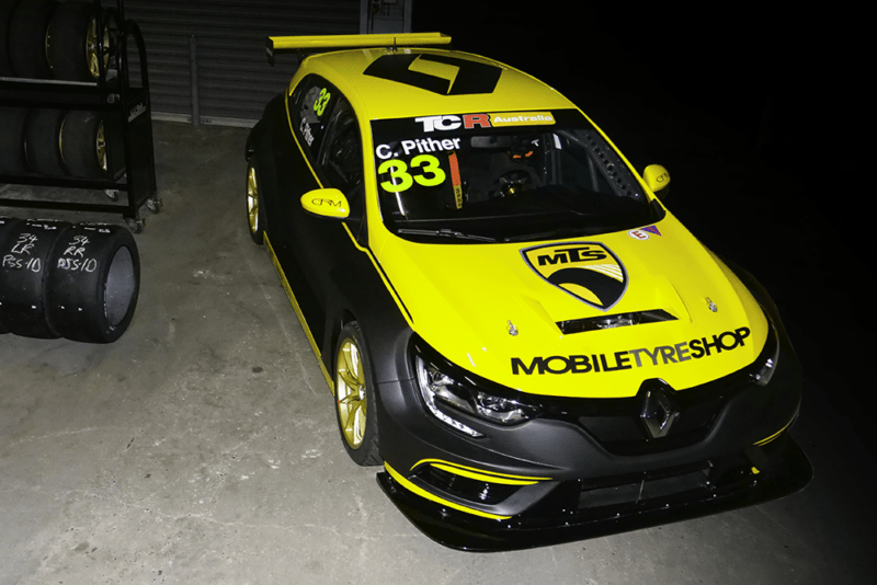 GRM reveals striking look for Renault Mégane TCR cars