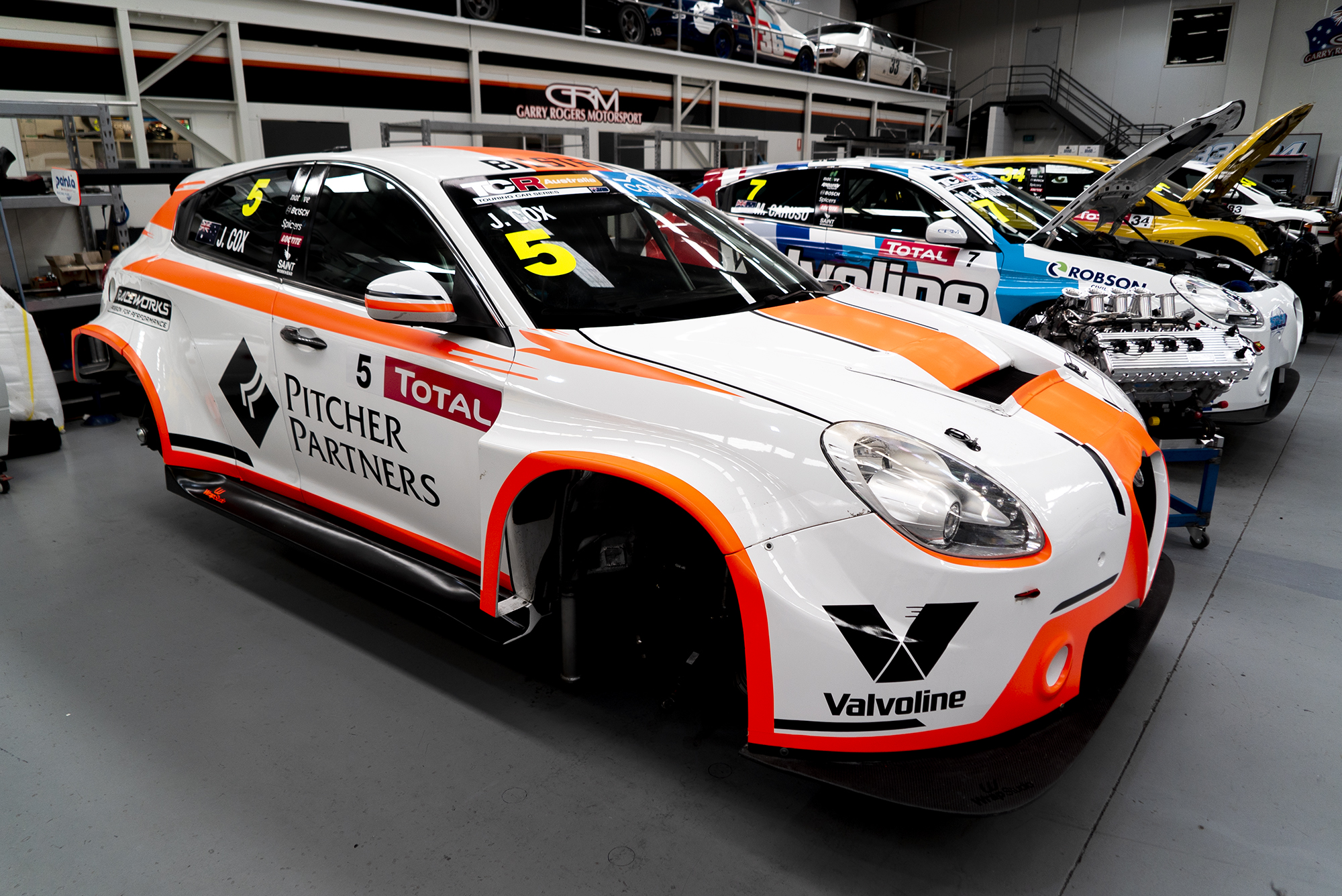 New war paint for Cox as he aims high in 2021 TCR Australia Series