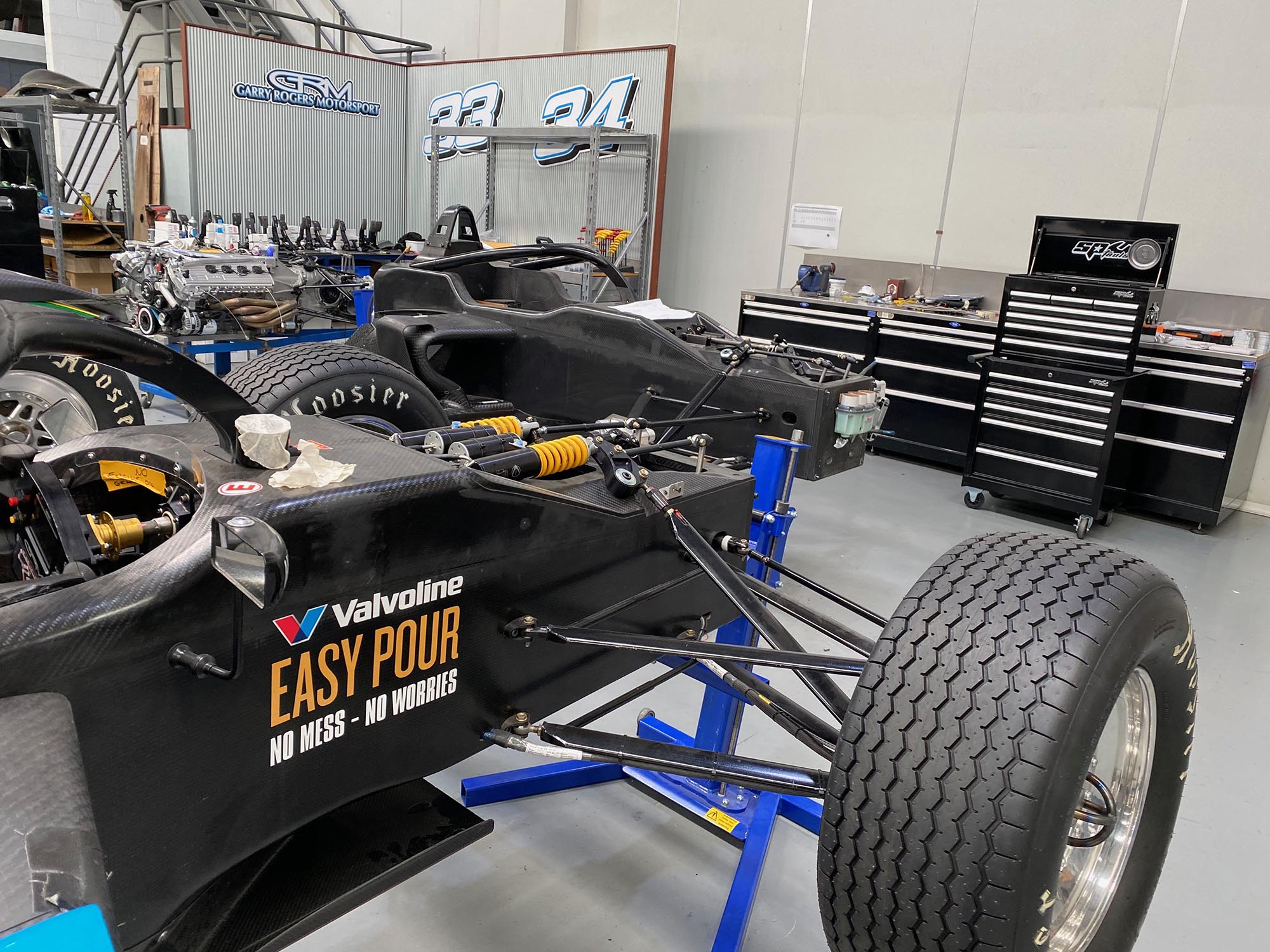 Three new S5000 tubs arrive ahead of Australian Grand Prix