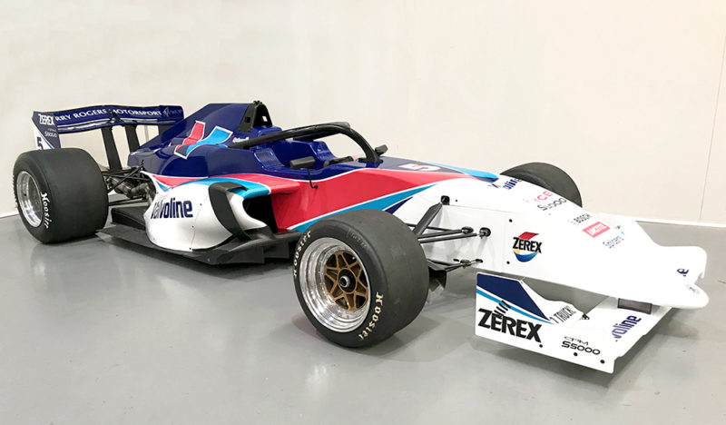 Valvoline celebration with iconic livery for S5000