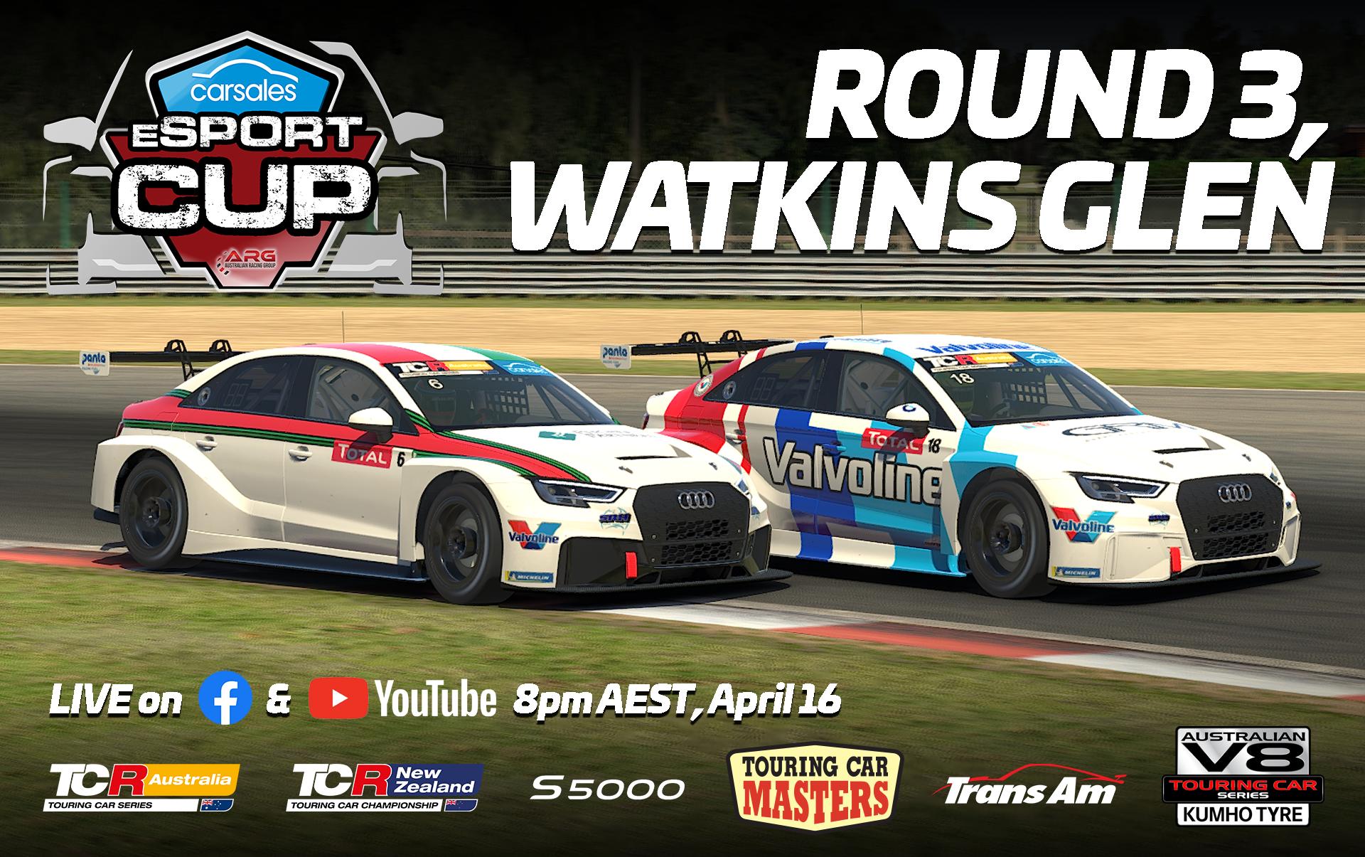 ARG Cup Round 3 – Watkins Glen